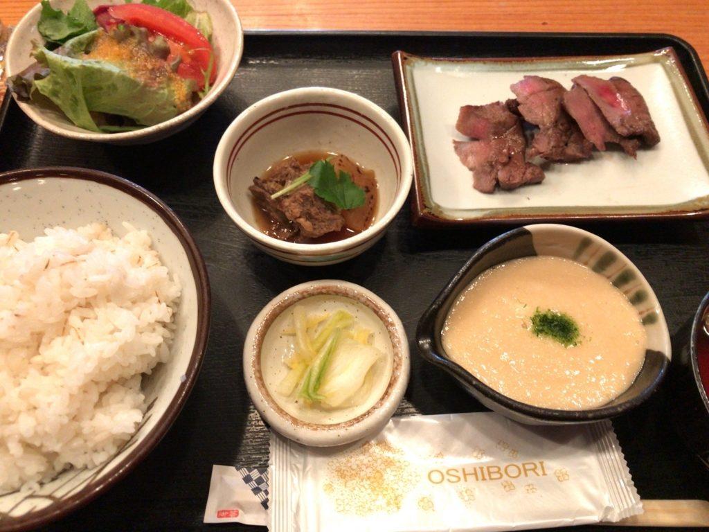 藤沢「佐助」牛タン定食