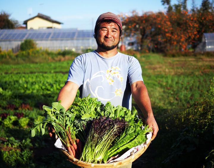 武田双雲カフェ「CHIKYU FARM TO TABLE」